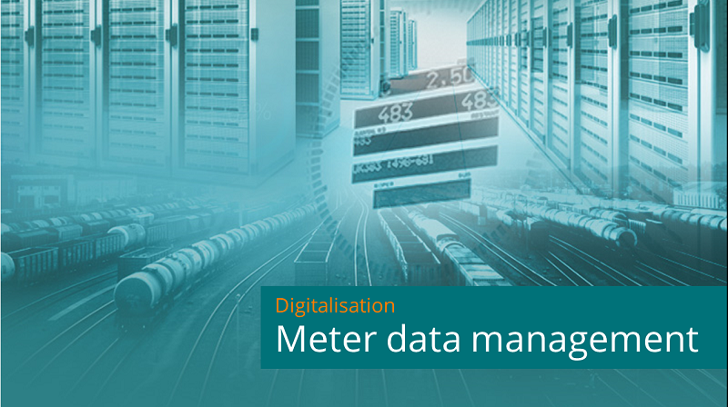 Meter data management industrial energy